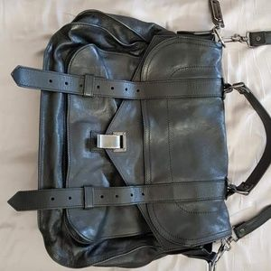 Proenza schouler ps1 Large Black leather